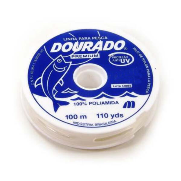Nylon Dourado Premium 0.40 X 100 Mt. Natural