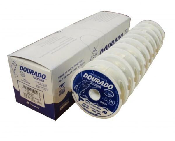 Nylon Dourado Premium 0.80 X 100 Mt. Natural