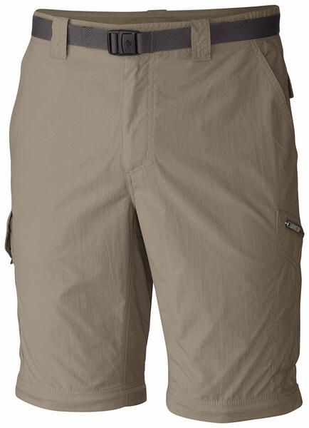 Pantalon Columbia h. SILVER RIDGE convertible tusk