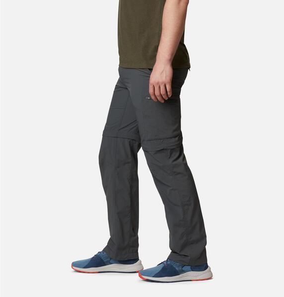 Pantalon Columbia hombre Silver Ridge Convertible Omni Shade Gris