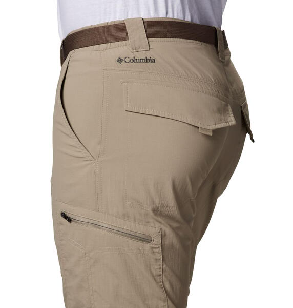 Pantalon Columbia hombre Silver Ridge Omni Shade convertible piedra