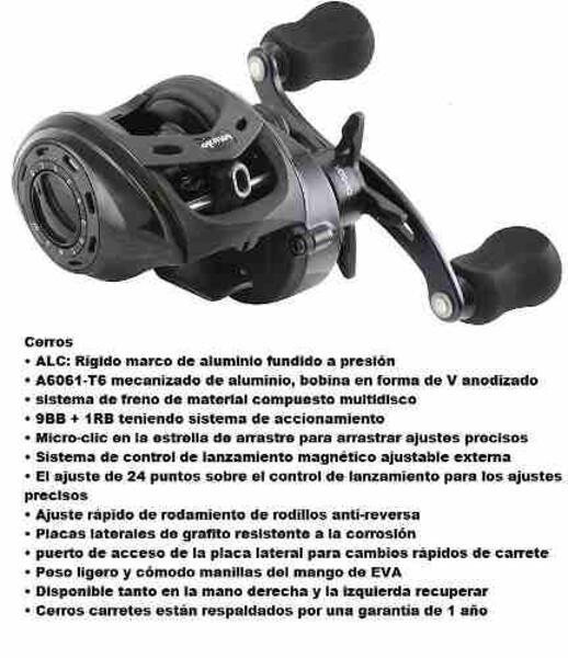 Reel rotativo Okuma CERROS-CR-266V