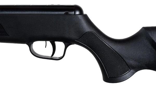 Rifle aire comprimido Fox Compact SR1000F Nitro Piston Negro calibre 5.5mm + Bipode