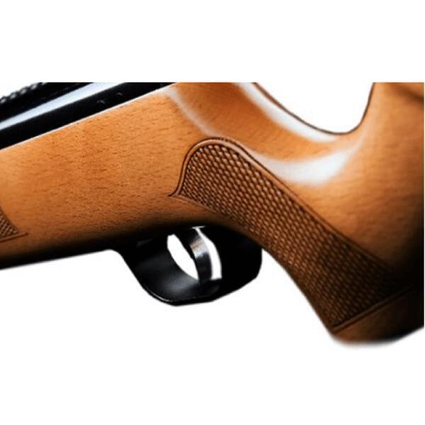 Rifle aire comprimido Fox X-Nitro GR1600W calibre 6.35mm culata madera