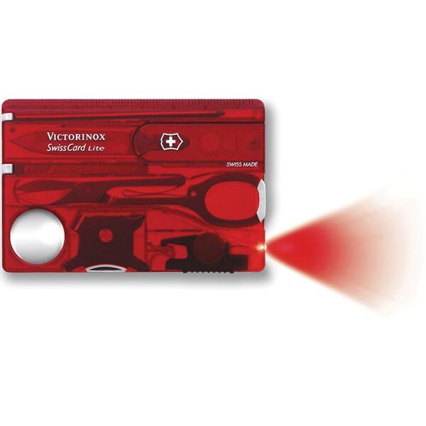 Swisscard Victorinox Lite Rojo 0.7300.T