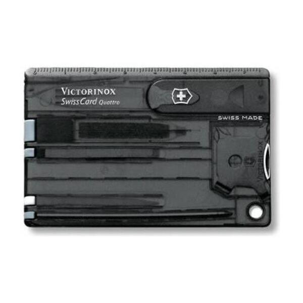 Swisscard Victorinox Quattro Negro  0.7203