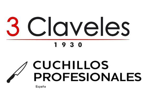 Taco de cocina Imantado 3 Claveles + 6 Cuchillos Profesionales Bavaria