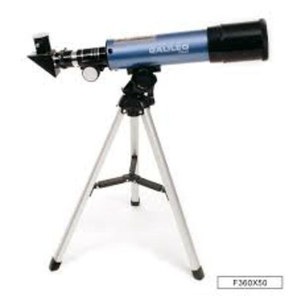 Telescopio GALILEO F360x50 Con Tripode