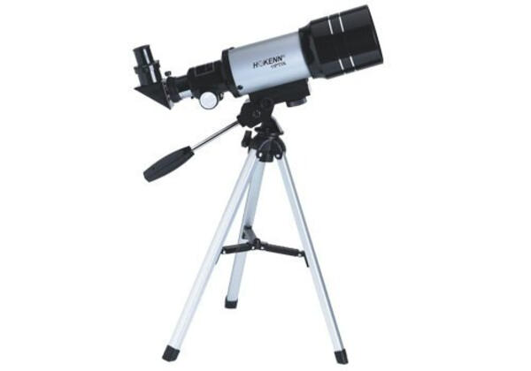 Telescopio Hokenn refractor HPR D70mm DF300mm trip. alum.