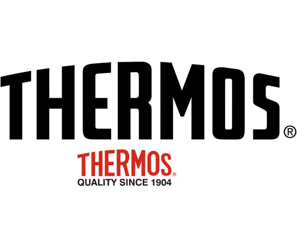 Termo Thermos acero inoxidable tipo bala plateado 1lt.