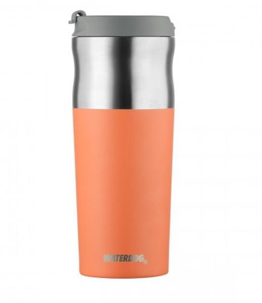 Vaso termico Waterdog Olivera acero inoxidable coral 450cc  OLIVER450CO